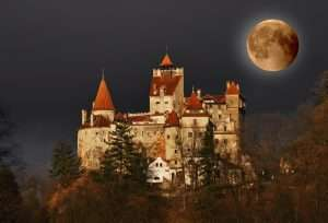 The home of Count Dracula's Castle. Brasov, Transylvania