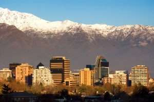 Santiago, surrounded by beautiful nature