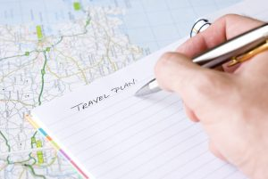 A checklist for every new location I arrive